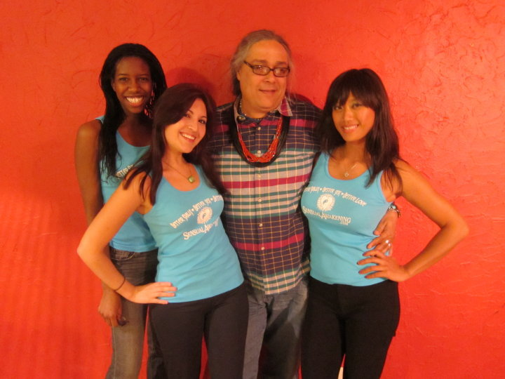 Steve P with 3 Lady Friends in Las Vegas